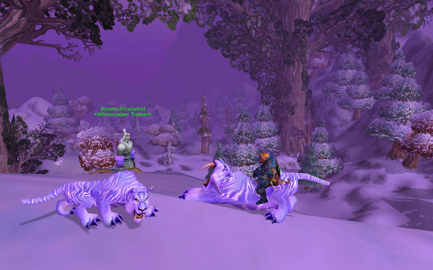 how to get to winterspring from stormwind
